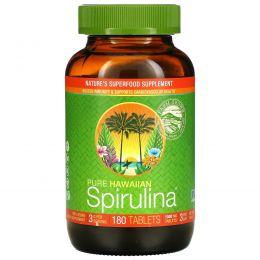 Nutrex Hawaii, Тихоокеанская спирулина, Природный гавайский мультивитамин без примесей, 180 таблеток