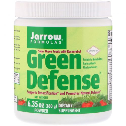 Jarrow Formulas, Green Defense, 180 г, пудра