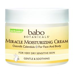 Babo Botanicals, Крем Miracle Moisturizing Cream, Овёс и календула, 57 г.