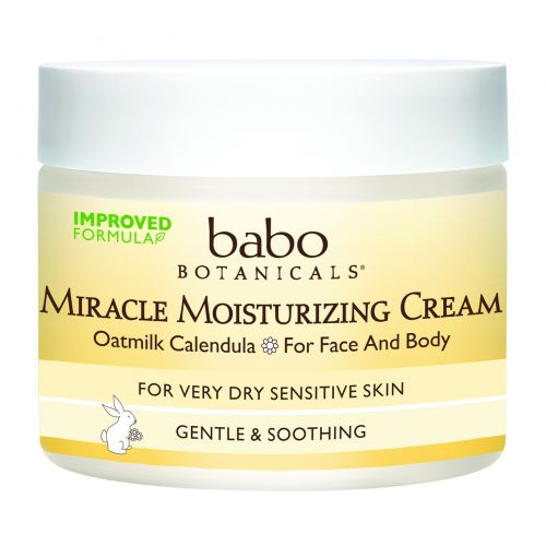 Babo Botanicals, Крем Miracle Moisturizing Cream, Овёс и календула, 57 г.