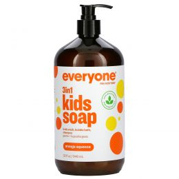 EO Products, Детское мыло Everyone Soap for Every Kid, с ароматом апельсинового сока, 32 жидких унции (960 мл)