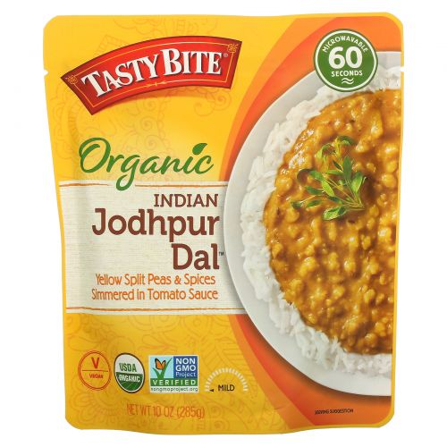 Tasty Bite, Organic, Indian Jodhpur Dal, Mild, 10 oz (285 g)