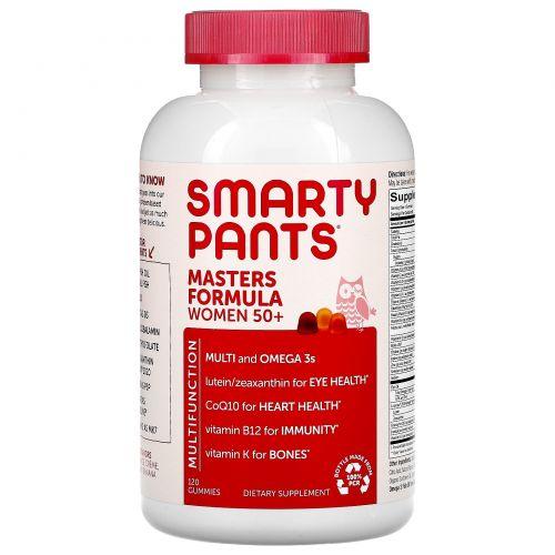 SmartyPants, Masters Complete, для женщин от 50 лет, больше, чем мультивитамин, 120 жевательных конфет