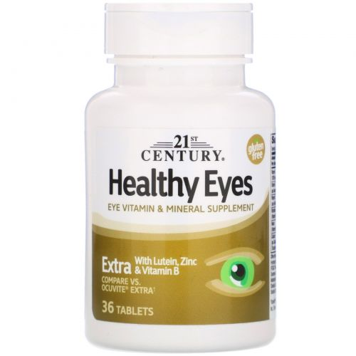 21st Century, Healthy Eyes, Extra, 36 Tablets