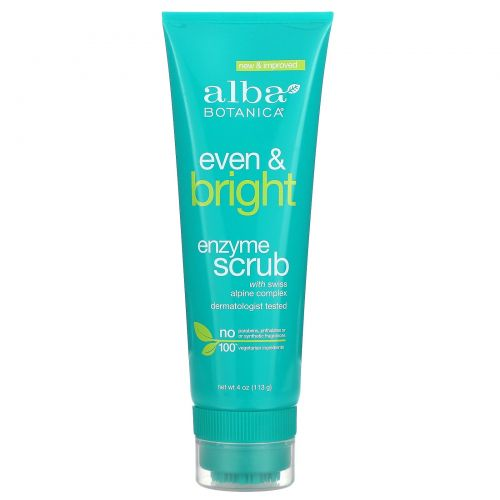Alba Botanica, Even Advanced, Enzyme Scrub, Sea Algae, 4 oz (113 g)