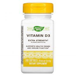 Nature's Way, Витамин D3 240 гелевых капсул