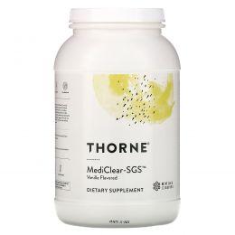 Thorne Research, Mediclear-SGS, ваниль, 37,8 унций (1071 г)