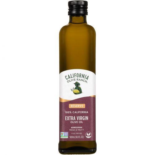 California Olive Ranch, Оливковое масло холодного отжима, арбекина, 16,9 жидк. унц. (500 мл)