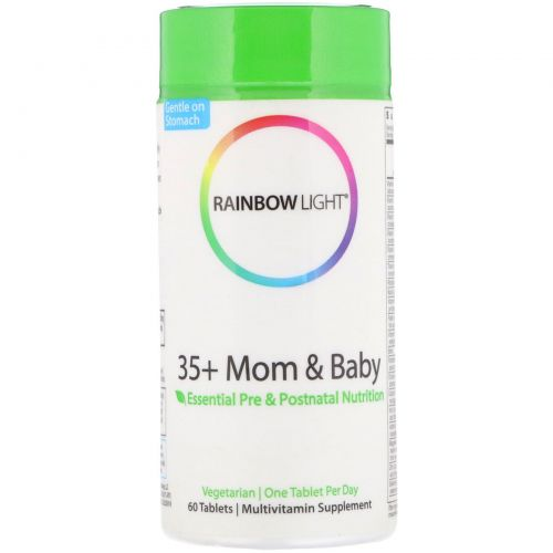 Rainbow Light, 35+ Mom & Baby, 60 таблеток