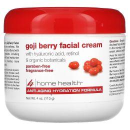 Home Health, Крем для лица с ягодами годжи, 4 унции (113 г)