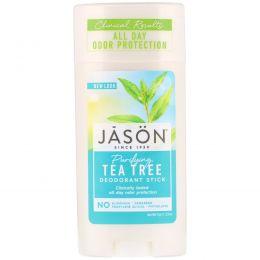 Jason Natural, Дезодорирующий карандаш, Очищающее чайное дерево, 2,5 унции (71 г)
