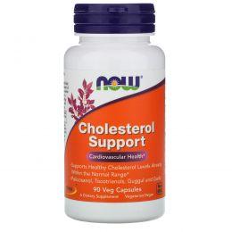 Now Foods, Улучшение холестеринового баланса, 90 растительных капсул