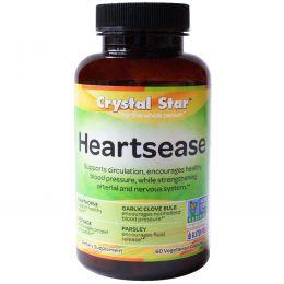 Crystal Star, Heartsease , 60 вегетарианских капсул