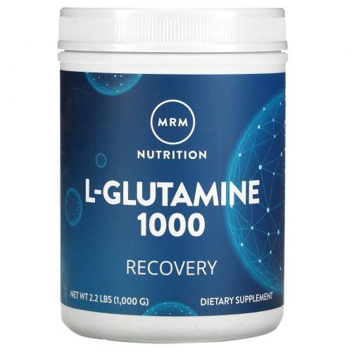 MRM, L-глутамин 1000, 2,2 фунта (1000 г)