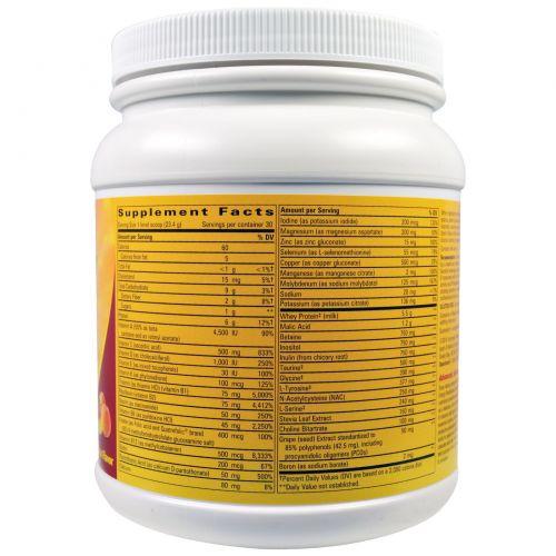 Enzymatic Therapy, Fatigued to Fantastic!, система регенерации энергии, тропический цитрусовый вкус, 24,7 унции (702 г)