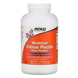 Now Foods, Модифицированный цитрусовый пектин, 100% чистый порошок, 1 фунтов (454 г)