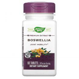 Nature's Way, Босвеллия, стандартизованная, 60 таблеток