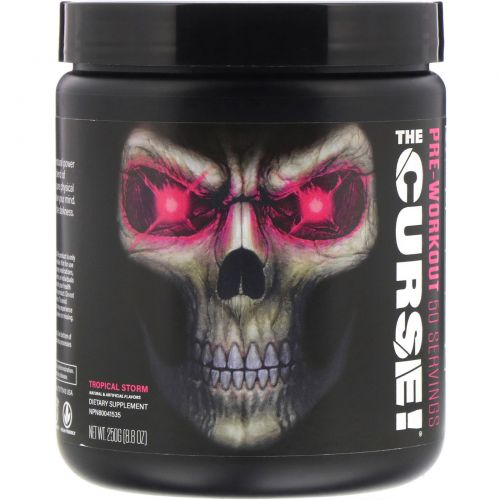 Cobra Labs, The Curse, Pre Workout, Tropical Storm , 0.55 lbs (250 g)