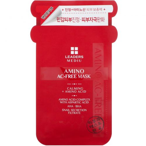 Leaders, Маска Mediu Amino AC-Free, 1 маска, 25 мл