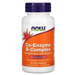 Now Foods, Now Foods, CO-ENZYME B-COMPLEX, 60 Vcaps