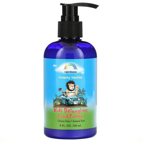 Rainbow Research, Детский кондиционер для распутывания волос, ароматизированный, ванильный крем, 8,5 жидкой унции (240 мл)
