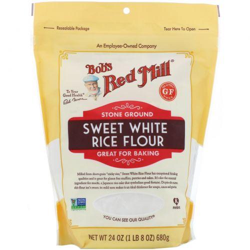 Bob's Red Mill, Sweet White Rice Flour, 24 oz (680 g)
