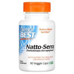 Doctor's Best, Natto-Serra, 90 Veggie Caps