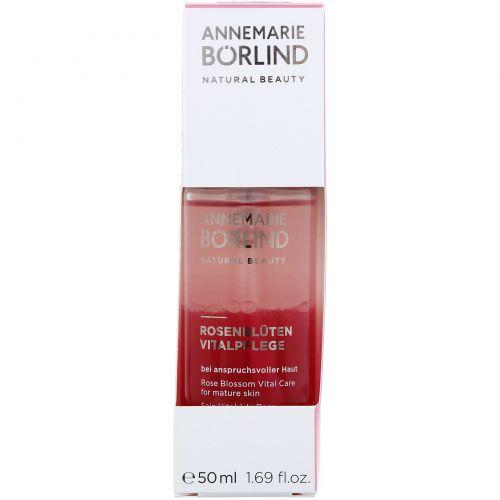 AnneMarie Borlind, Натуральная красота, восстанавливающий уход, розовый цветок, 1,69 жидких унций (50 мл)