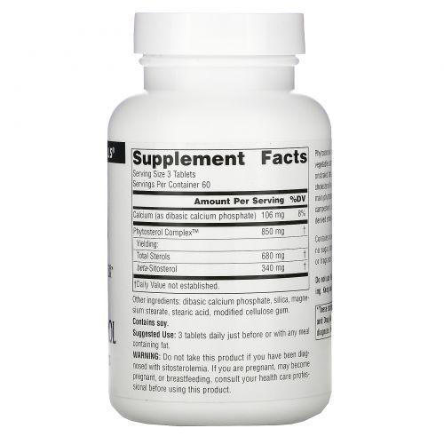 Source Naturals, Комплекс фитостеролов, содержащий бета-ситостерин, 113 мг, 180 таблеток