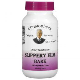 Christopher's Original Formulas, Кора вяза ржавого, 400 мг, 100 растительных капсул