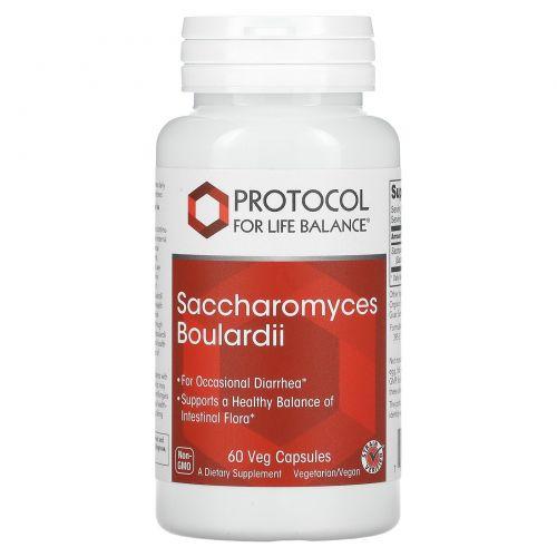 Protocol for Life Balance, Saccharomyces Boulardii, 60 Veg Capsules