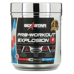 Six Star, Pre-Workout Explosion, Icy Rocket Freeze, 7.41 oz (210 g)