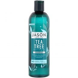 Jason Natural, Восстанавливающий шампунь, Чайное дерево, 17,5 жидких унций (517 мл)