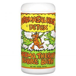 Abra Therapeutics, Aromasaurus, Пена для ванн, ароматерапия — очищение для детей, 20 унций (566 г)