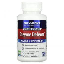 Enzymedica, Enzyme Defense (старое название - ViraStop), 120 капсул