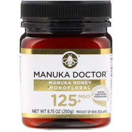 Manuka Doctor, Manuka Honey Monofloral, MGO 125+, 8.75 oz (250 g)