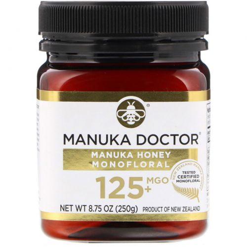 Manuka Doctor, Manuka Honey Monofloral, MGO 125+, 8.75 oz (250 g)