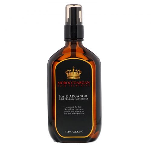 Tosowoong, Morocco Argan Hair Oil, 100 ml