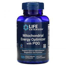Life Extension, Митохондриальный энергетический оптимизатор с BioPQQ (биопирролохинохиноном), 120 капсул