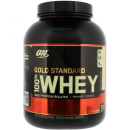 Optimum Nutrition, 100% Whey Gold Standard, French Vanilla Crème, 5 lbs (2,273 g)