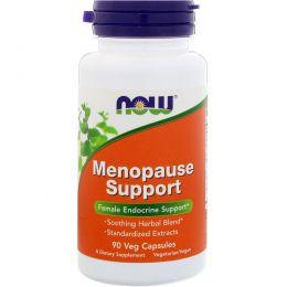 Now Foods, Поддержка в период менопаузы, 90 капсул в растительной оболочке