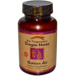 Dragon Herbs, Golden Air, 500 мг, 100 капсул на растительной основе