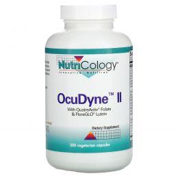 Nutricology, OcuDyne II, 200 вегетарианских капсул