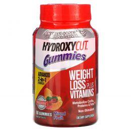 Hydroxycut, Hydroxycut, жевательный мармелад, фруктовая смесь, 90 шт.
