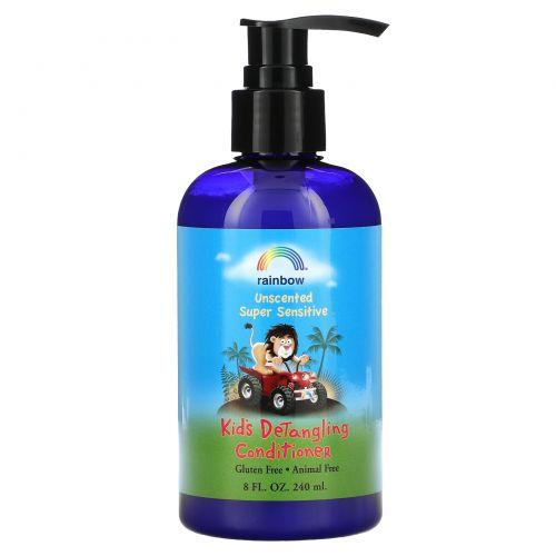 Rainbow Research, Детский кондиционер для волос, облегчающий расчесывание, без запаха, 8 жидких унций, (240 мл)
