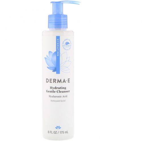 Derma E, Hydrating Cleanser, Hyaluronic Acid, 6 fl oz (175 ml)