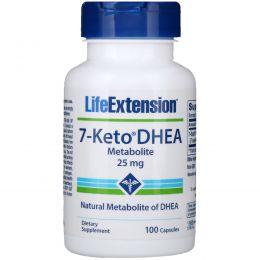 Life Extension, 7-Keto DHEA, метаболит, 25 мг, 100 капсул