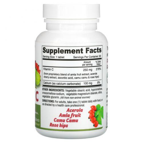 Deva, Vegan Vitamin C, Multi Source, 90 Tablets
