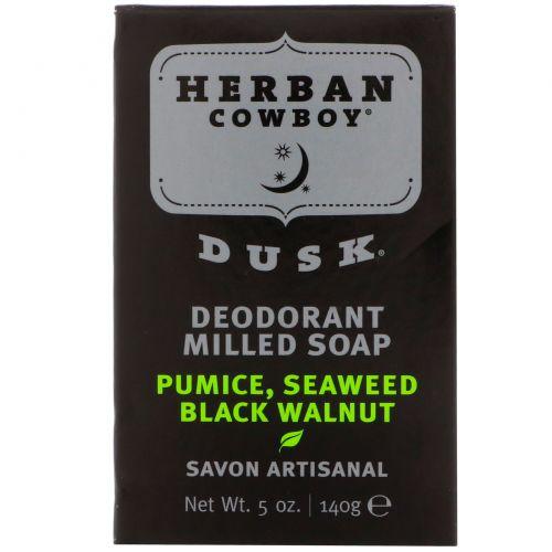 Herban Cowboy, Пилированное мыло, Dusk, 5 унций (140 г)