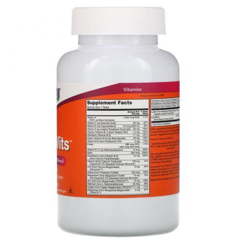 Now Foods, Ежедевный комплекс витаминов, 250 таблеток